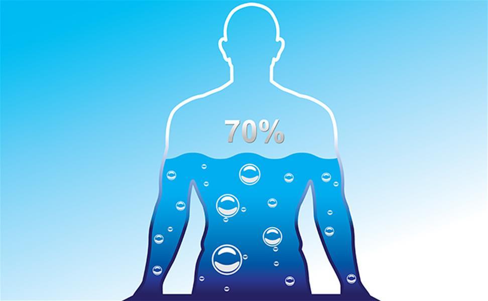 مجلة كوكب العلم العناصر الأربعة التي تكو ن جسمك المياه